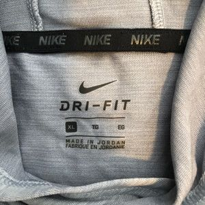 Grey Kids XL Nike dri-fit sweatshirt